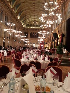 Bio-Europe Conference Dinner at the Vienna Town Hall