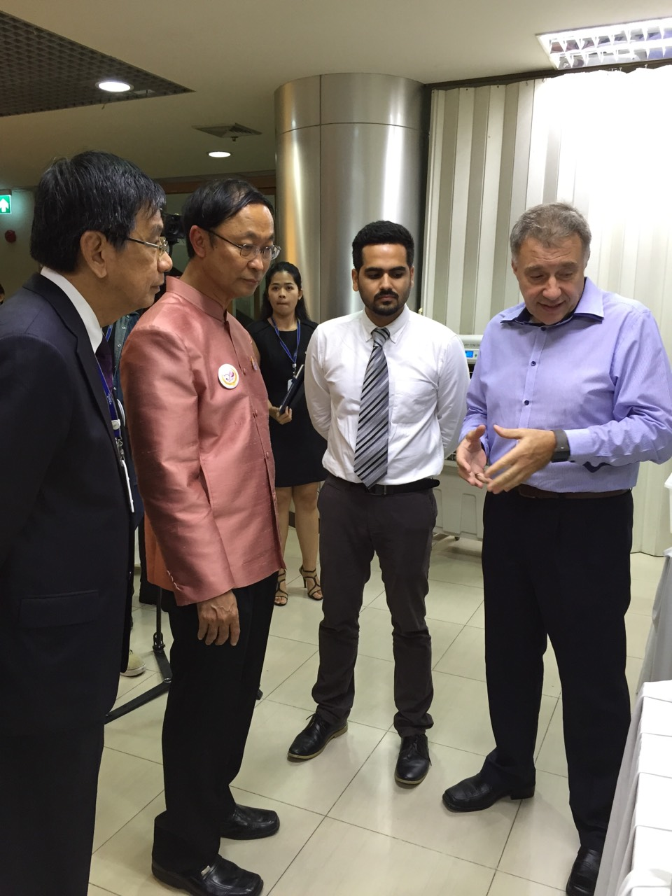 Austrianova had the privilege and honor to present our technology to the Minister of Science and Technology of Thailand, Dr. Pichet Durongkaveroj