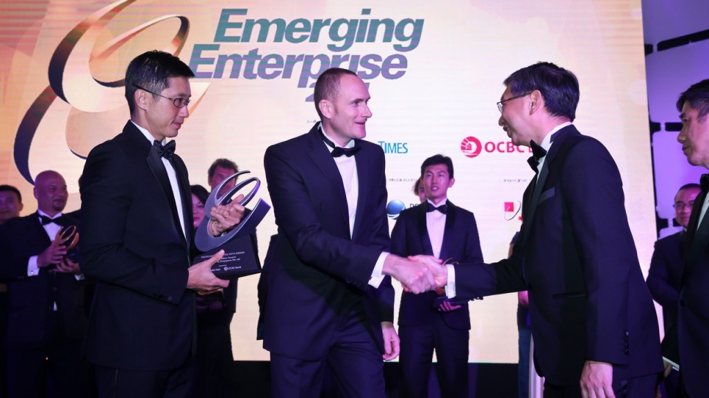 Austrianova wins the OCBC Emerging Enterprises Best Innovation Award 2014
